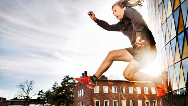 Otto Gabrielsson opiskelee Solnan kampuksella psykologiaa. Vapaa-aikana juoksemisesta on tullut erottamaton osa hänen elämäänsä.