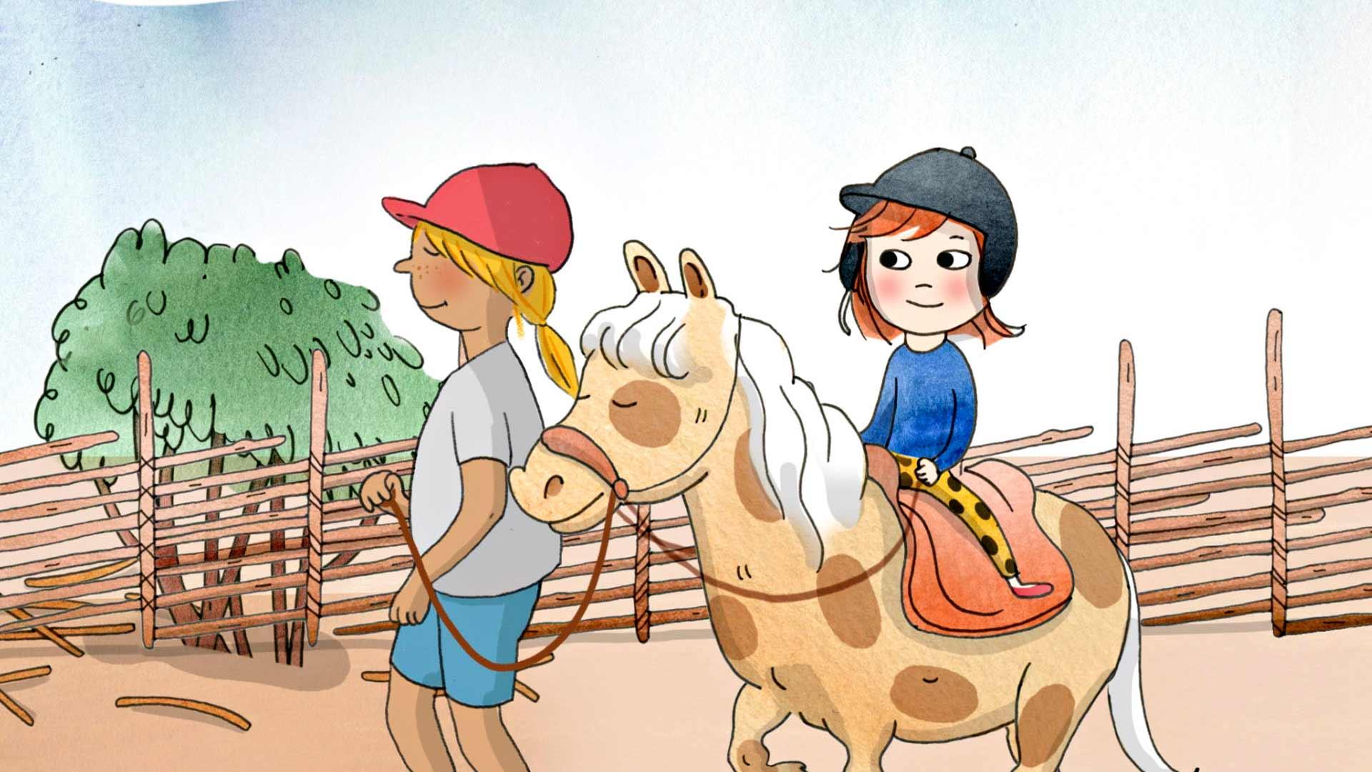 Pamela Tola ääninäyttelee animaatiossa Saagan seikkailut.