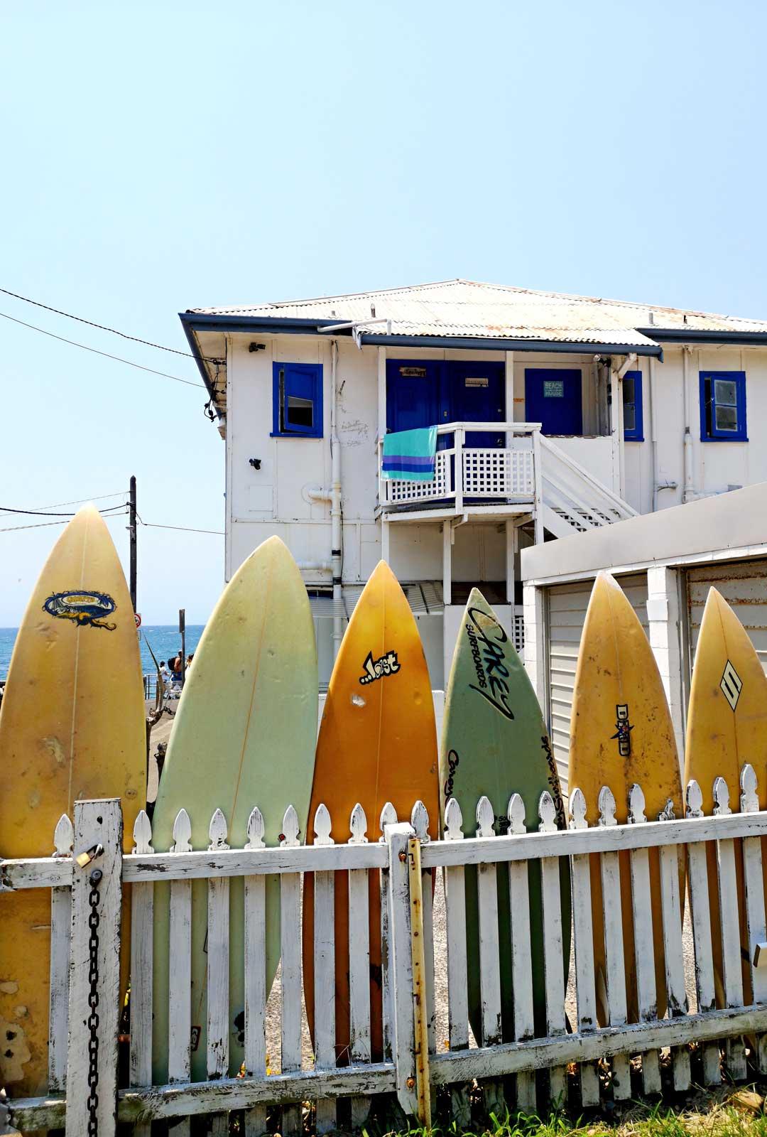 Surffaus oli yksi syy, miksi Björckit alunperin päättivät muuttaa Australiaan.