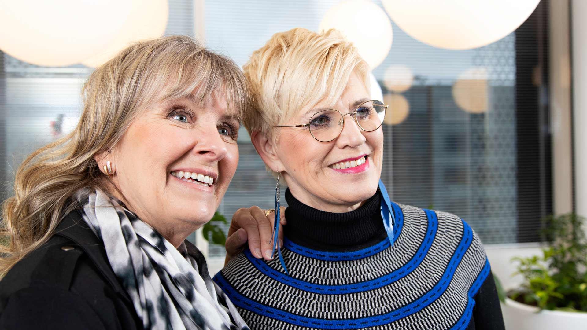 Mikä sääilmiö? Pia: Lea Saukkonen olisi vakaasti puhaltava tuuli. Lea on sitkeä ja päättäväinen. Lea: Pia Viitikko olisi ukkonen. Varmasti kaikki meteorologit rakastavat jylhää ja kaunista ukkosta. Pia on kaunis ihminen.