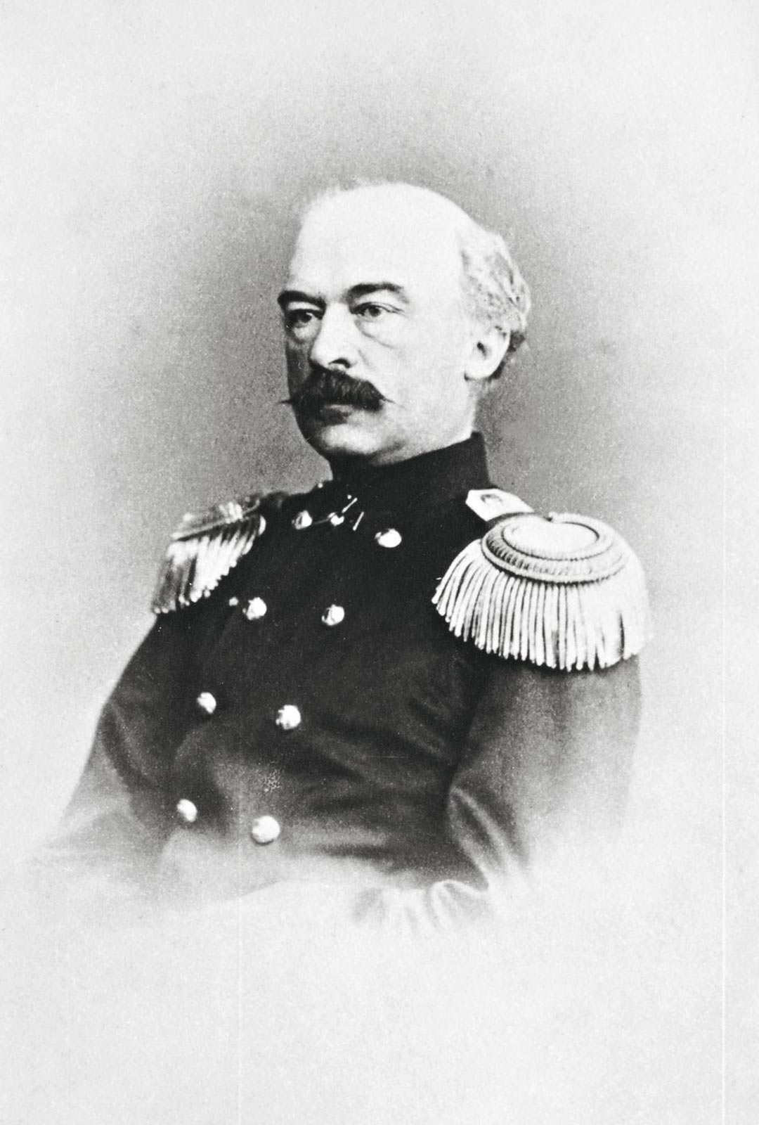 Venäjän Amerikan eli Alaskan kuvernööri, suomalainen Hampus Furuhjelm eli vuosina 1821-1909.