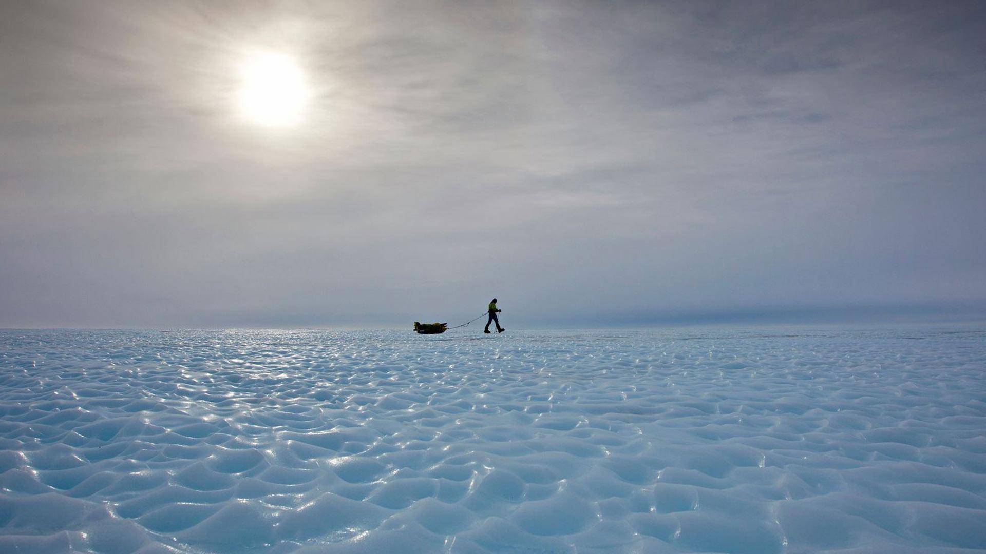 """Löytöretkeilijä Patrick """"Pata"""" Degermanille uran suurin saavutus on ensimmäinen matka Etelämantereelle Veikka Gustafssonin kanssa."""