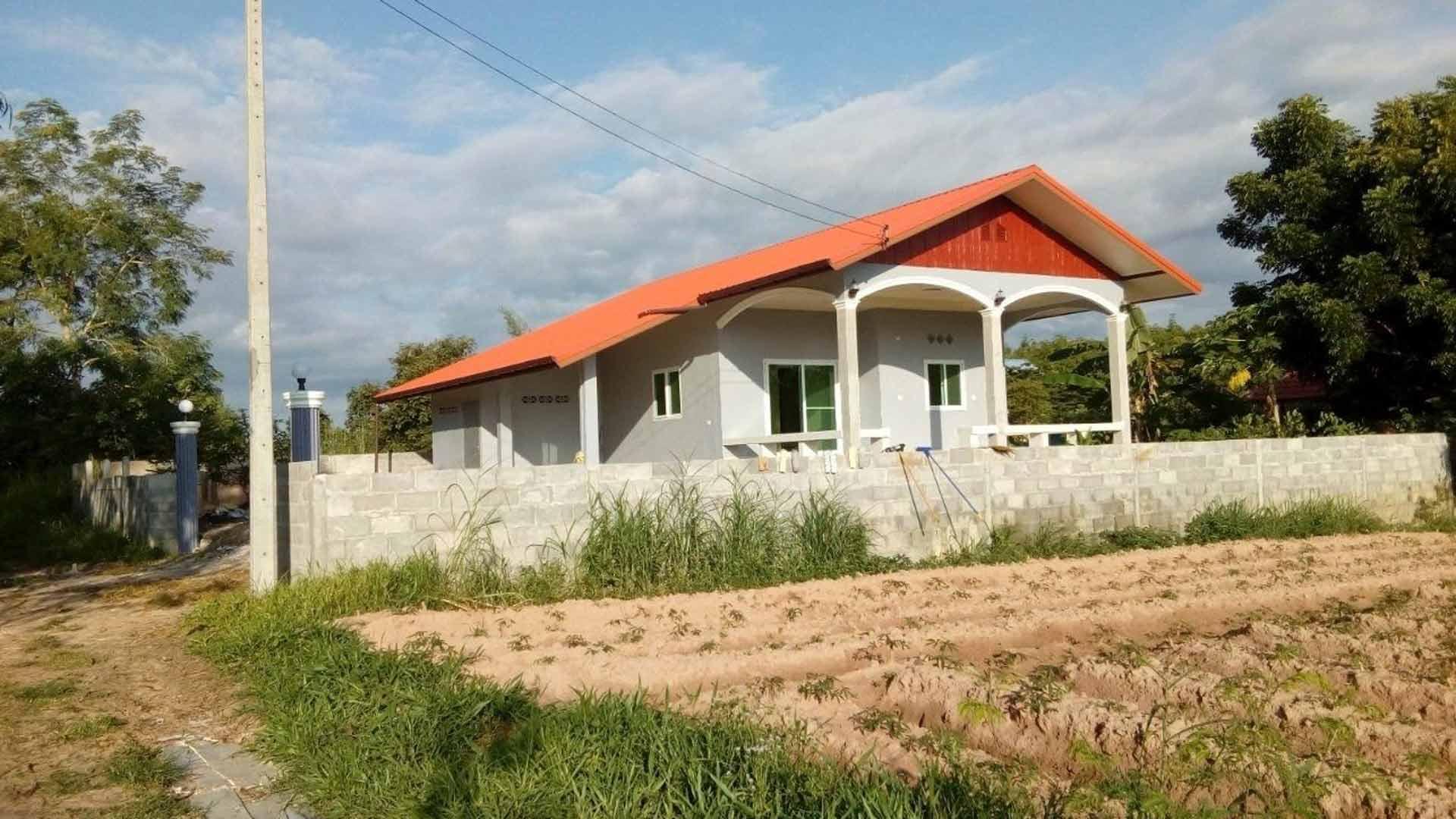 Erkki Parkkosen rakennuttama talo valmistui alkuvuodesta 2020.