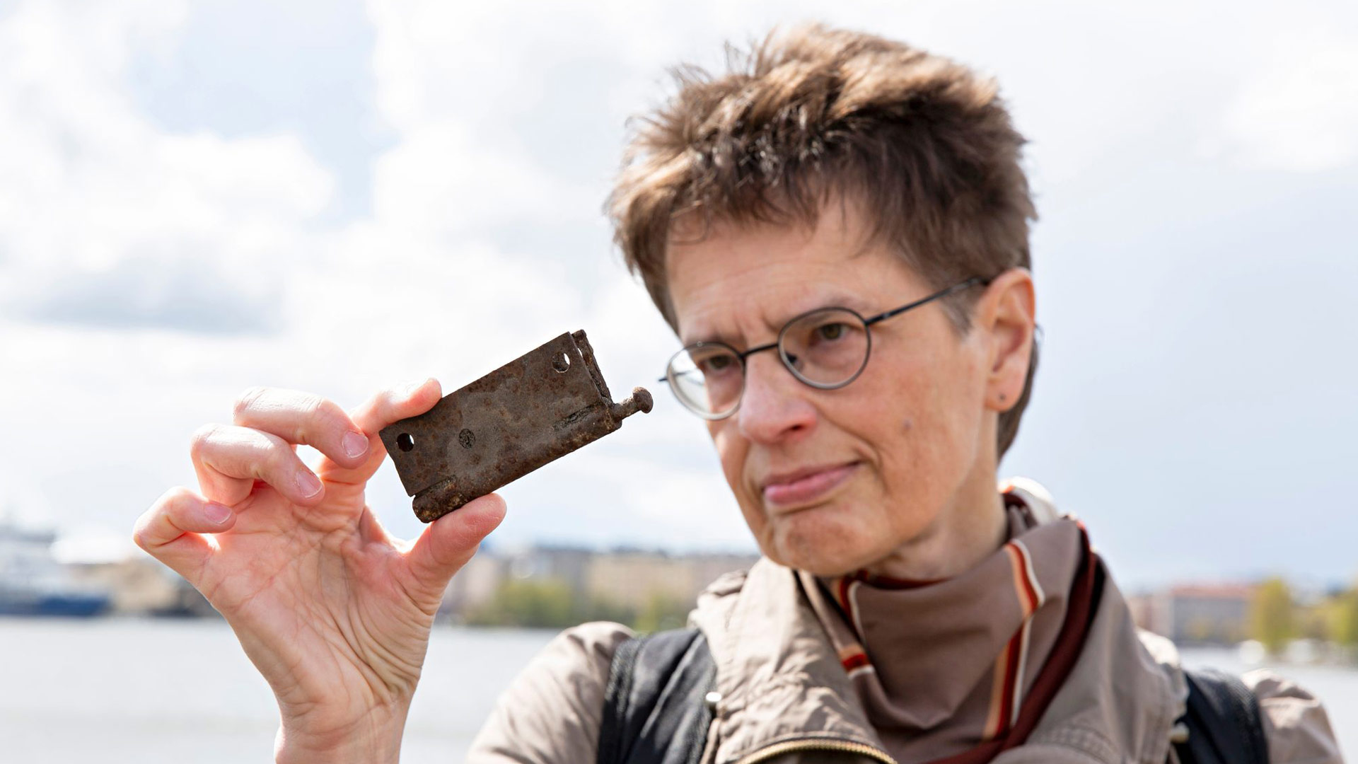 Helsinkiläisenä Maarit Verronen tykkää kulkea joutomailla ja rakenteilla olevilla alueilla ja seurata niiden muutoksia.
