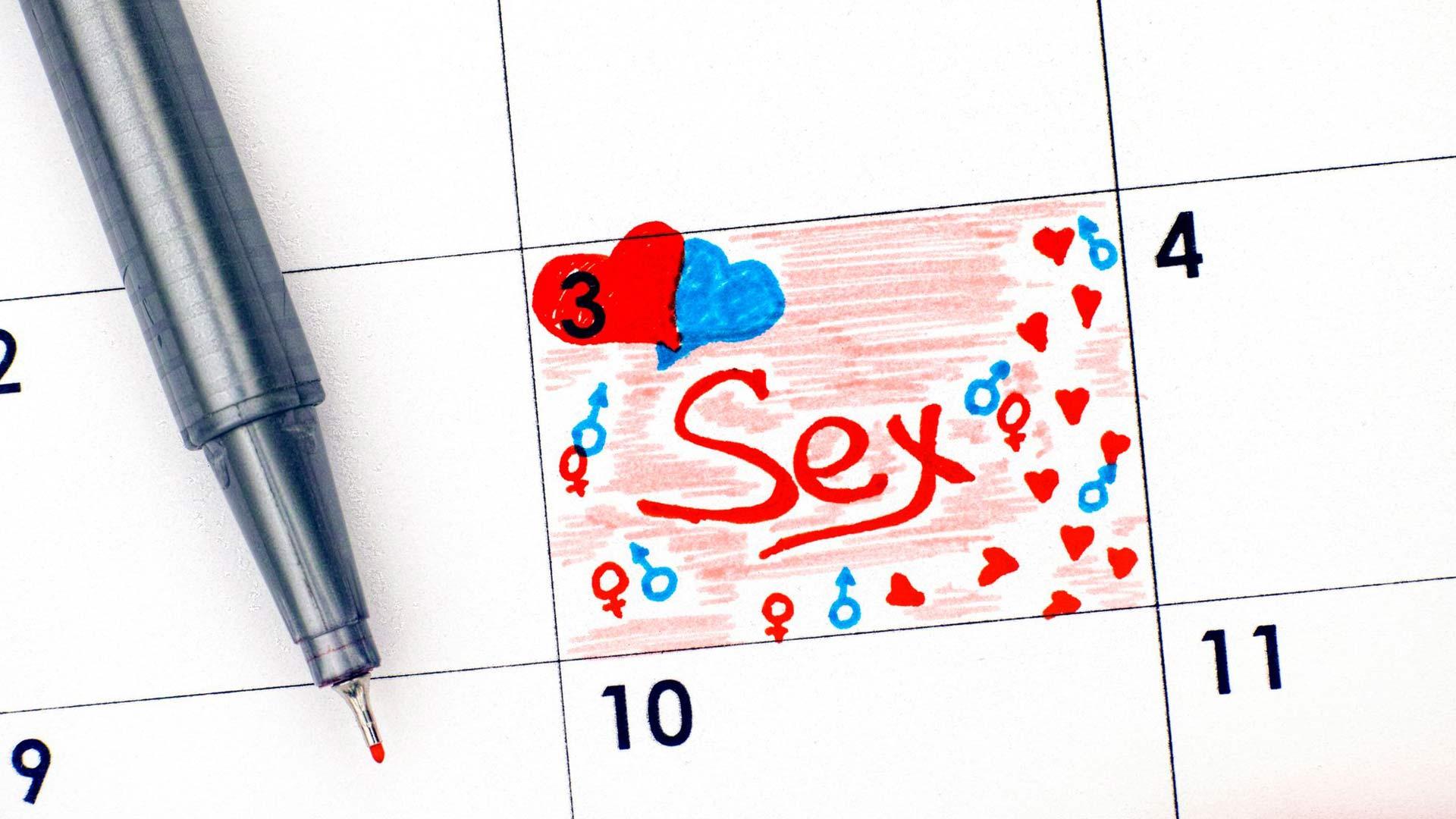 Kun seksille on sovittu aika ja paikka, alkaa kutkuttava odotus.