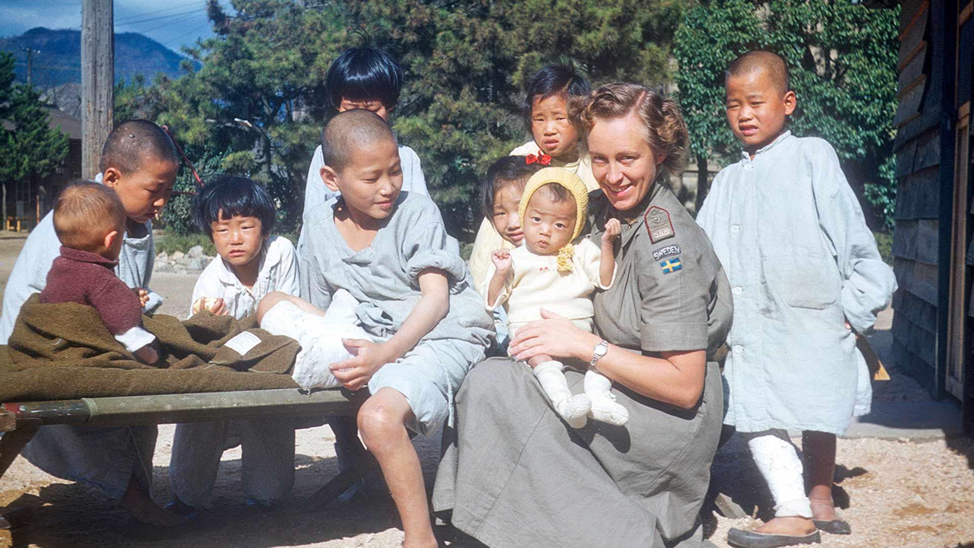 Historia: Ruotsalaiset Korean sodassa -dokumentti.