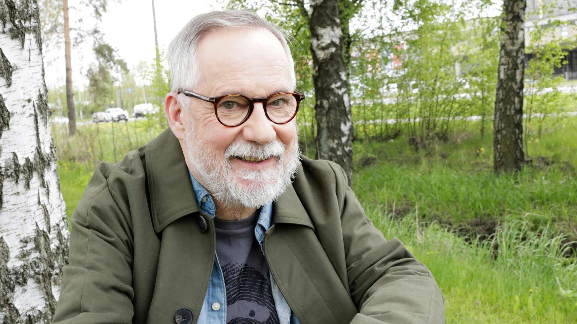 Näyttelijä Raimo Grönberg