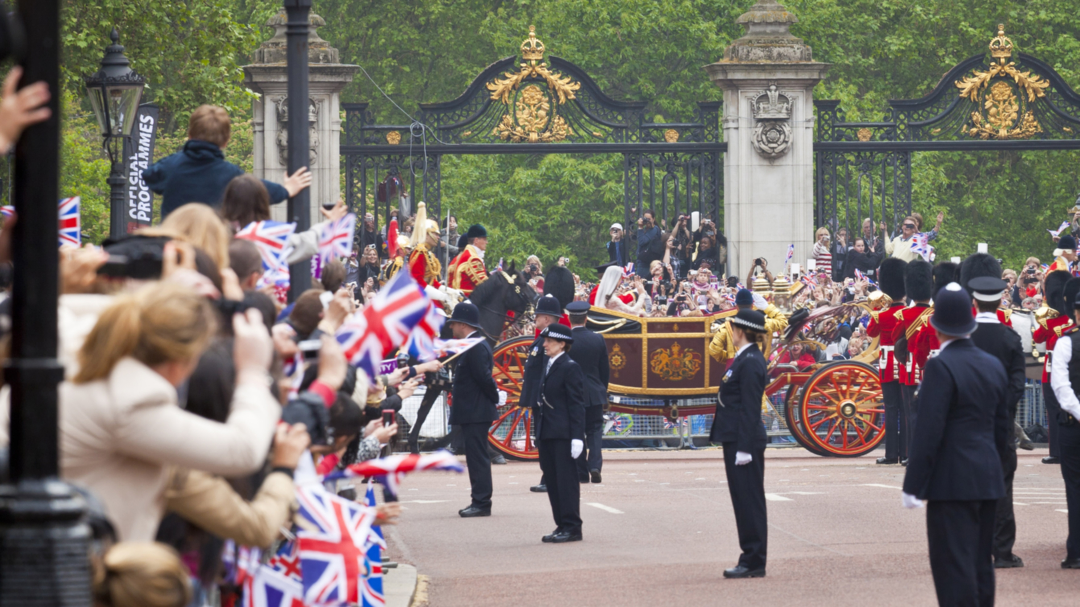 Kate ja prinssi William menivät naimisiin 11. huhtikuuta 2011.