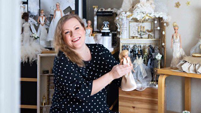 Terhi Saarinen Barbien luottodesinger