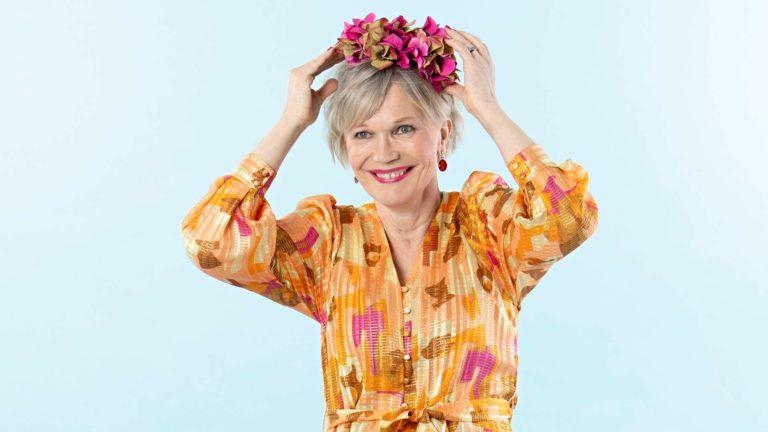 Sonja Suotamo tuli Vivan muuttumispäivään Espoosta.
