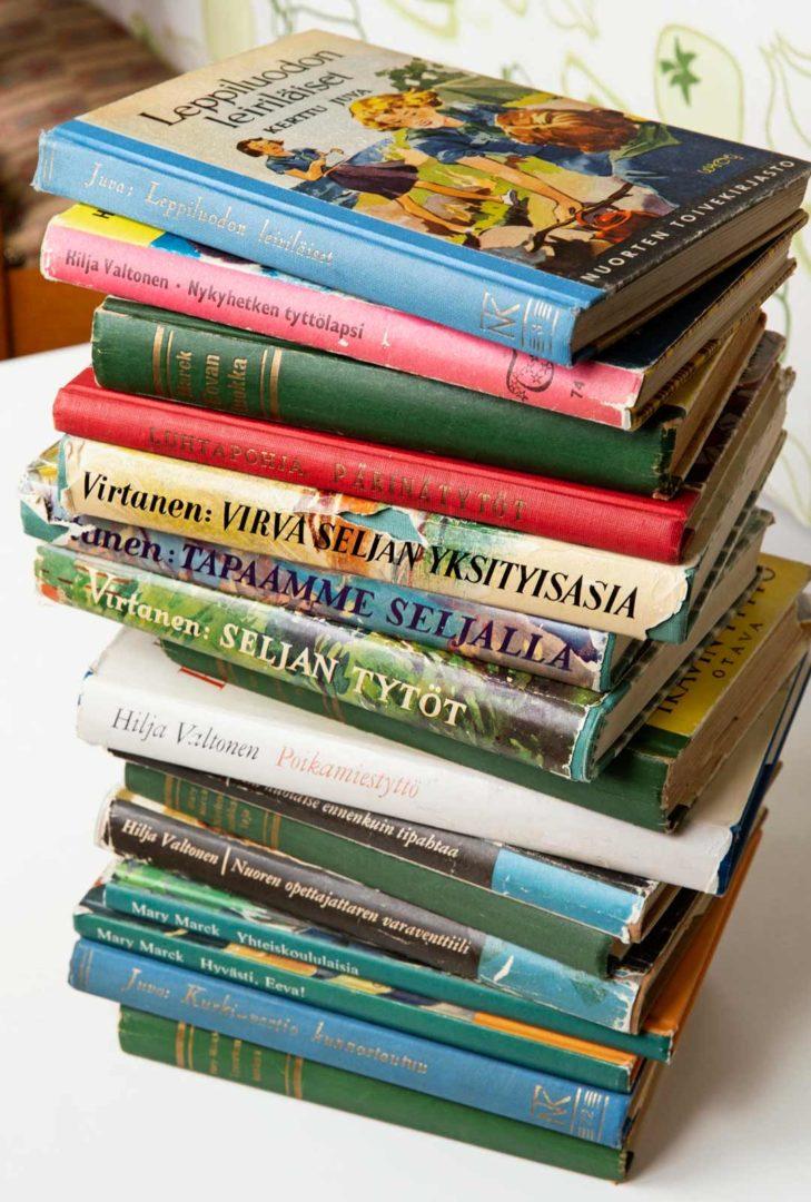 Kirjallisuutta Vanhat tyttökirjat