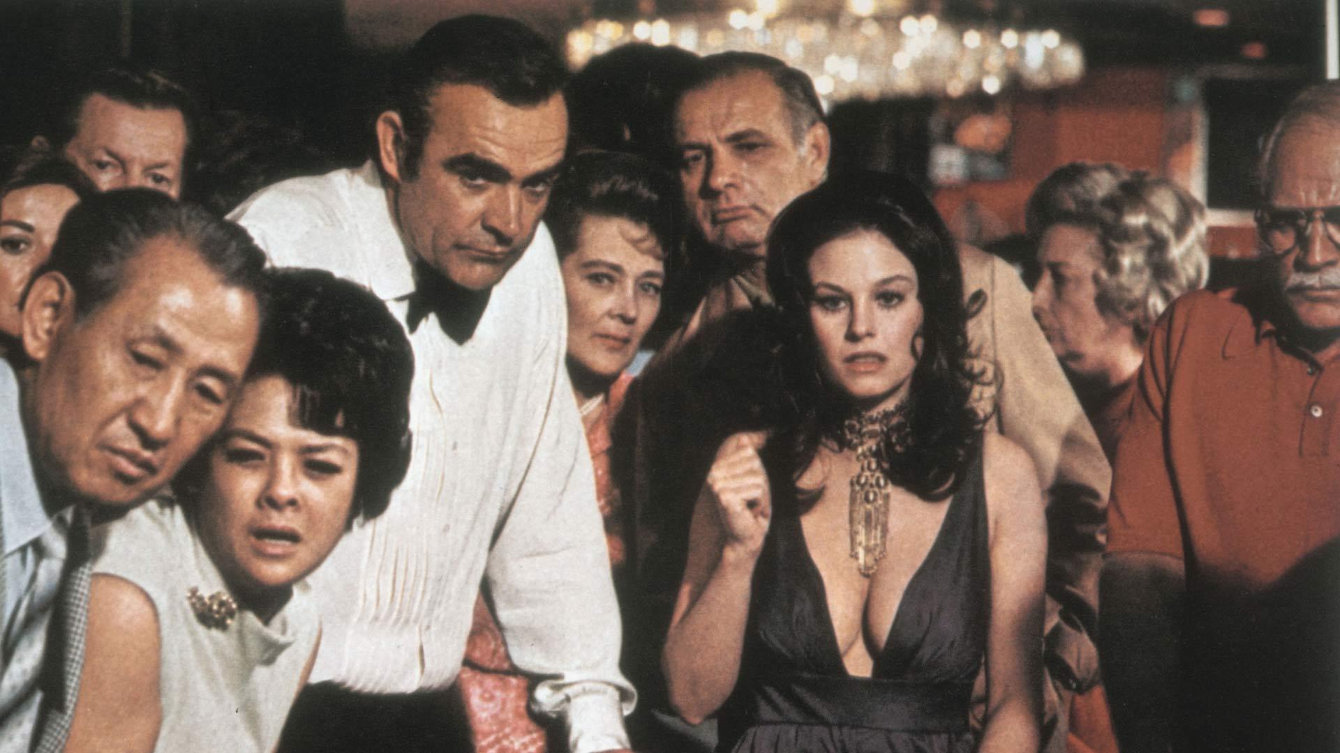 Sean Connery James Bondin roolissa elokuvassa007 – Timantit ovat ikuisia.