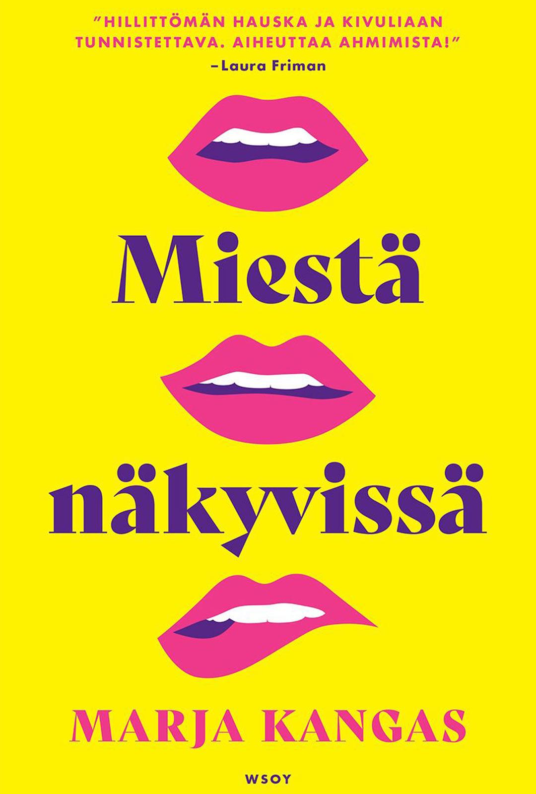 Marja Kangas on esikoiskirjailija, joka voitti romaanillaan Miestä näkyvissä WSOY:n ja Prisman kirjoituskilpailun.