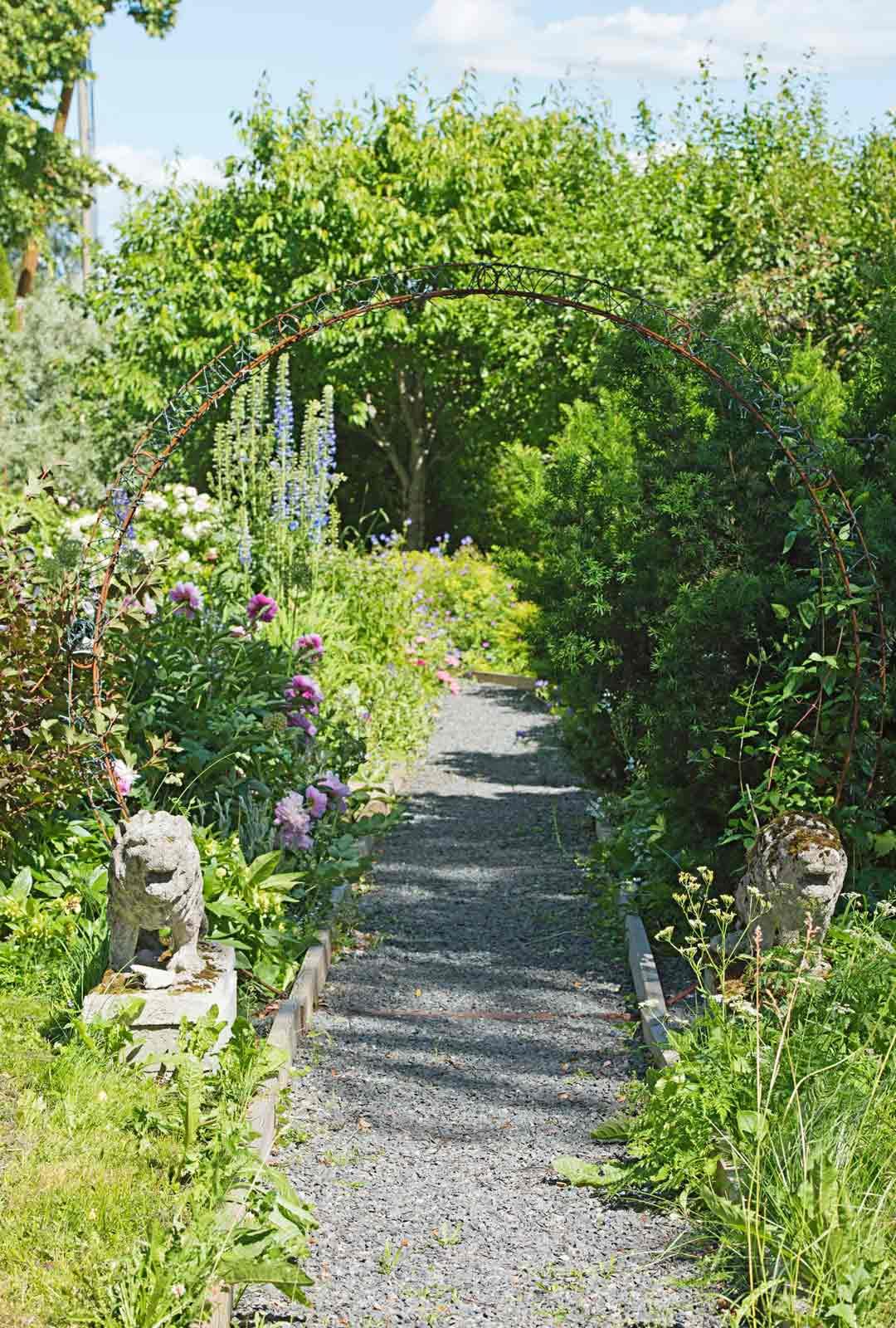 """""""Veden niukkuuden takia olen hiljalleen lisännyt puutarhaani kasveja, jotka sietävät myös kuivuutta."""""""