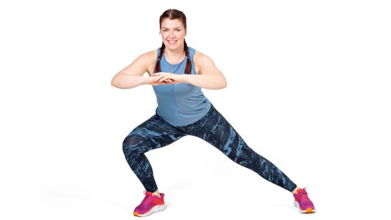 Kaikkien lonkan liikesuuntien harjoittaminen on tärkeää pakaralihasten lihastasapainon ja lonkan sekä lantion toiminnan kannalta.