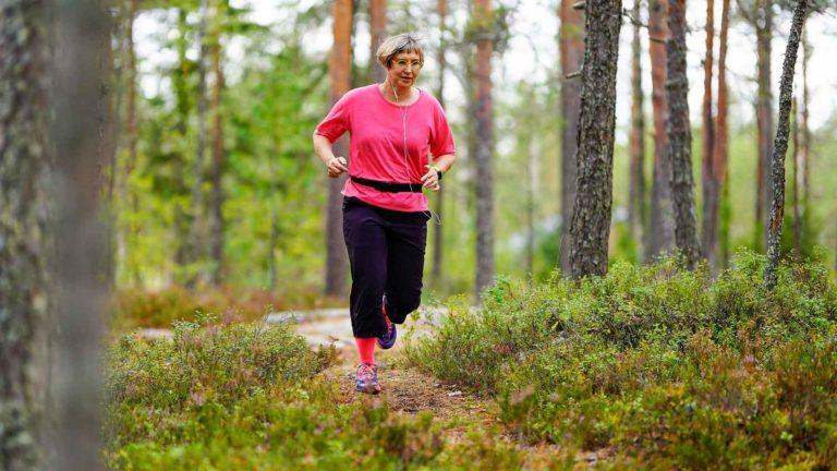 Parhaimpia ovat merkityt luontopolut, joilla voi juoksennella pää tyhjänä.