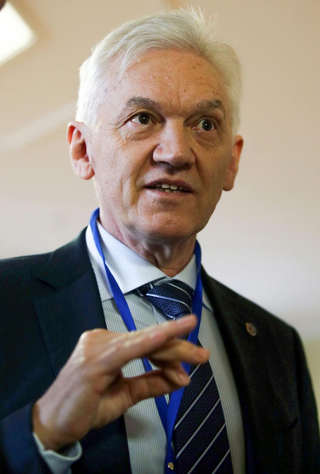 Energia-alan suurliikemies Gennadi Timtšenko.