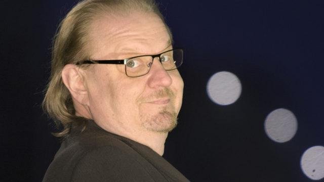 Koomikko Jope Ruonansuu vuonna 2017. Ruonansuu menehty heinäkuussa 2020 syöpään.