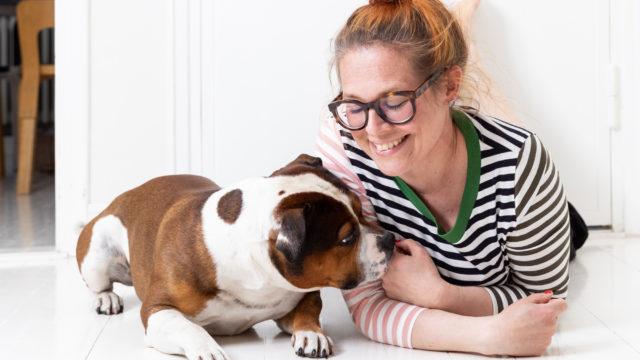 Toimittaja-juontaja Jenni Kivessilta lähti selvittämään Puhutaan koiraa -podcastissaan, millaisiin merkkeihin koiran käytöksessä olisi syytä kiinnittää huomiota, jotta ymmärrys omistajan ja koiran välillä syventyisi.