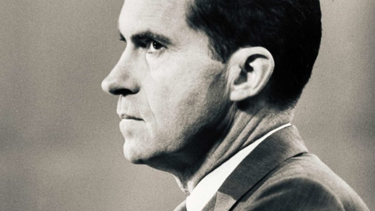 Richard Nixonin nousu ja tuho.