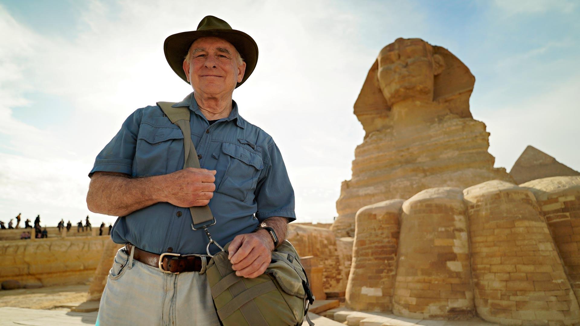Mark Lehner dokumentissaSuurten pyramidien kadonneet haudat.