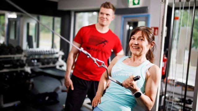 Personal trainer auttoi laihtumaan