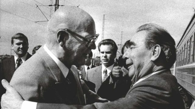 Media seurasi Leonid Brezhnevin ja Urkin tapaamisia tarkoin, mutta mitä ihmiset niistä miettivät?