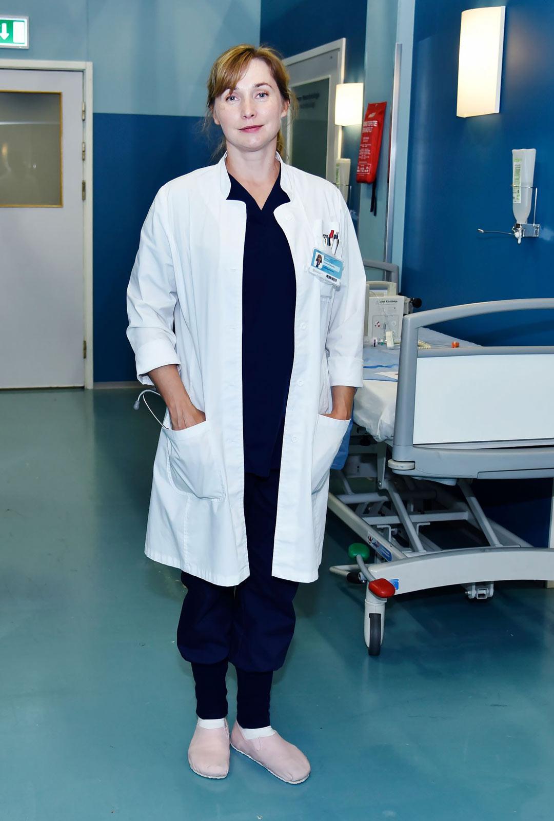 Näyttelijä Leena Pöysti.