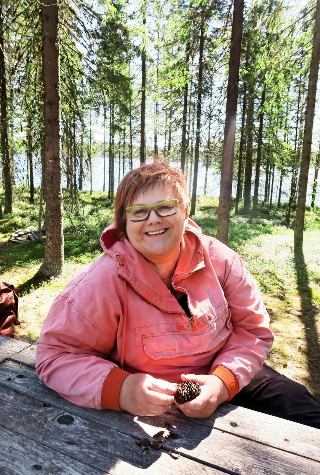 Pohjois-Karjalaan palannut Riitta Ryynänen