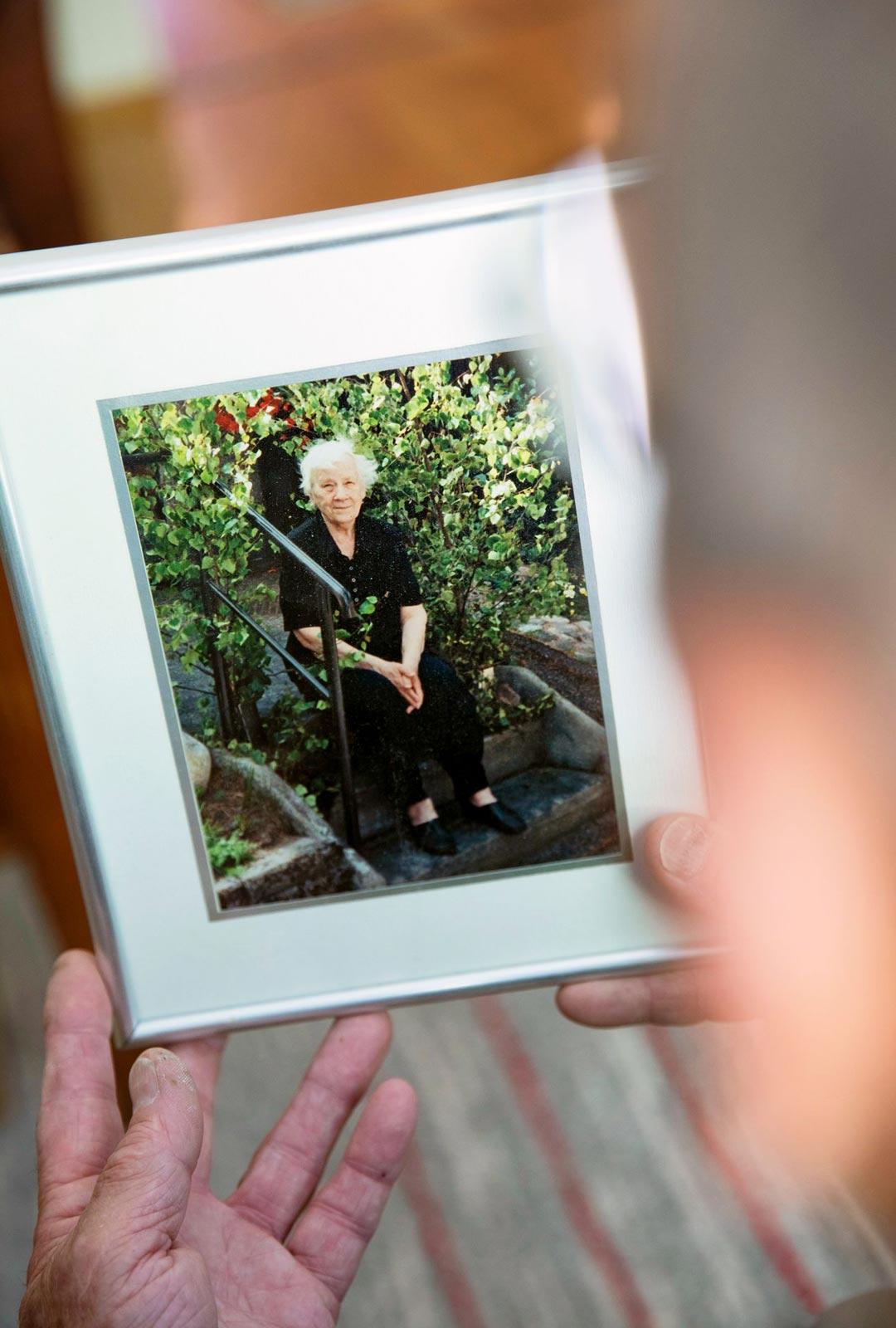 Riston Pirjo-vaimo sairastaa Alzheimerin tautia