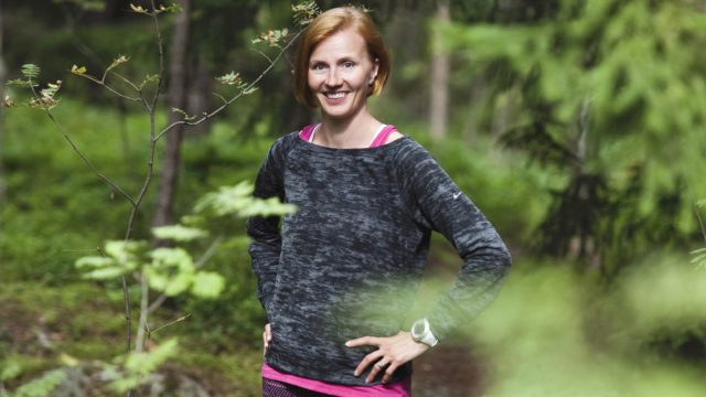 Virpi Sarasvuo kuvitteli ensin, ettei hänen urheilussa oppimillaan asioilla tekisi mitään urheilu-uran loppumisen jälkeen. Toisin kuitenkin kävi, hän kertoo