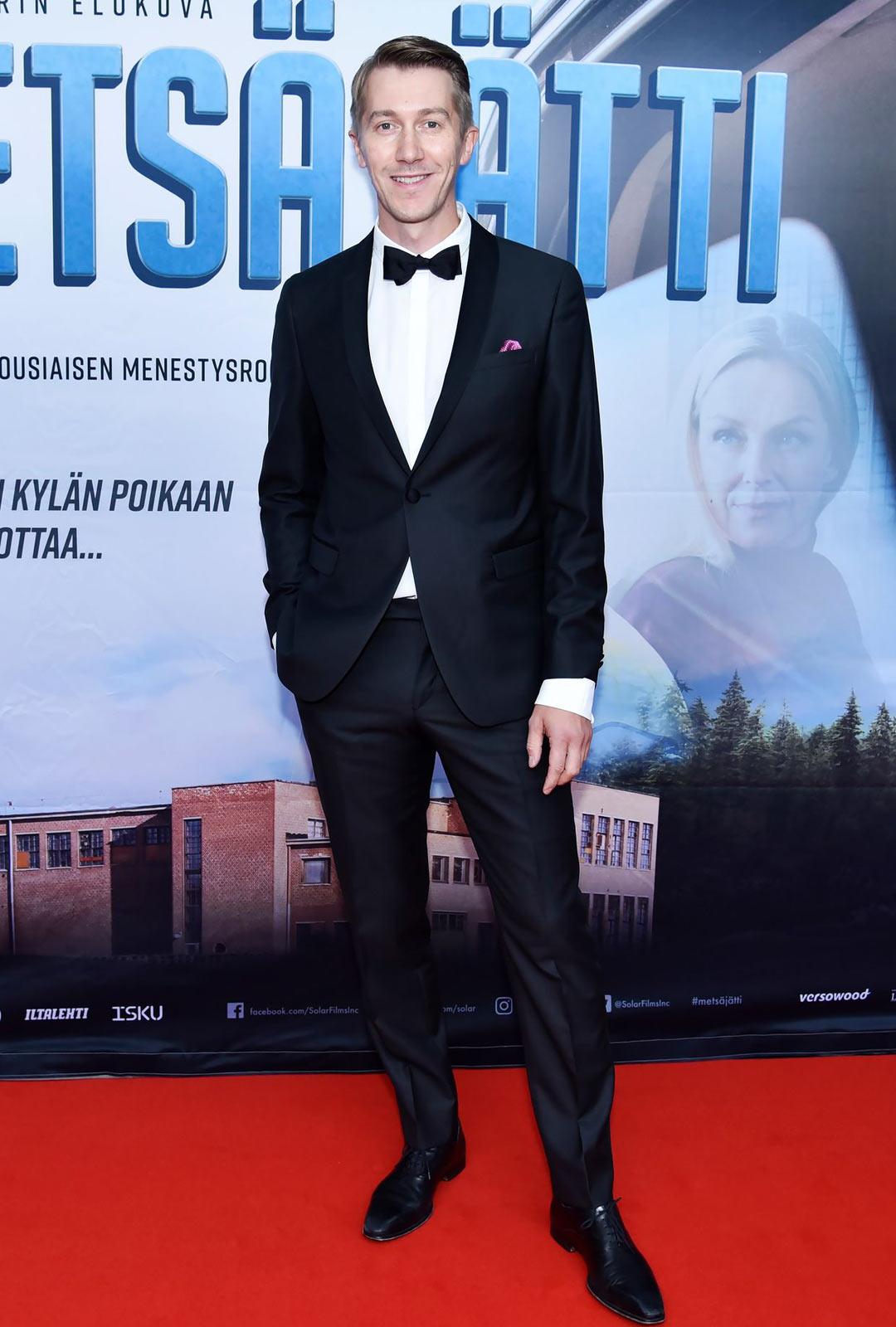 Jussi Vatanennäyttelee pääosaa elokuvassaMetsäjätti.