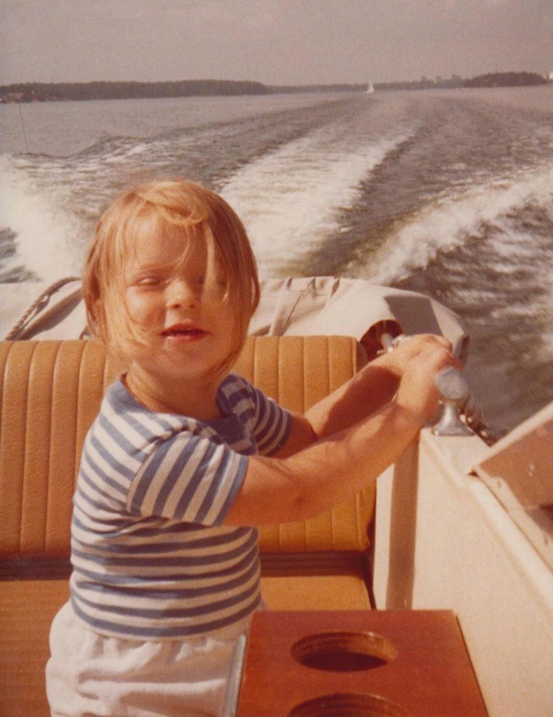 Tasaraidat rauhoittivat 1970-luvun lopun vauhdikasta merielämää Espoossa.