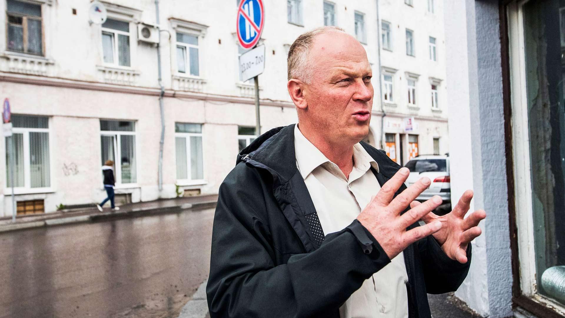 Kaupunkilaiset äänestivät viisi vuotta sitten energisen Sergei Krupinin, 49, Sortavalan kaupunginjohtajaksi.