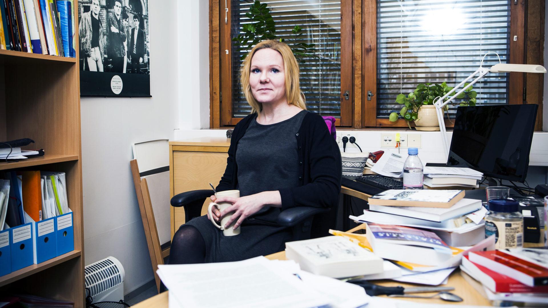 Tutkija Elina Pekkarinen
