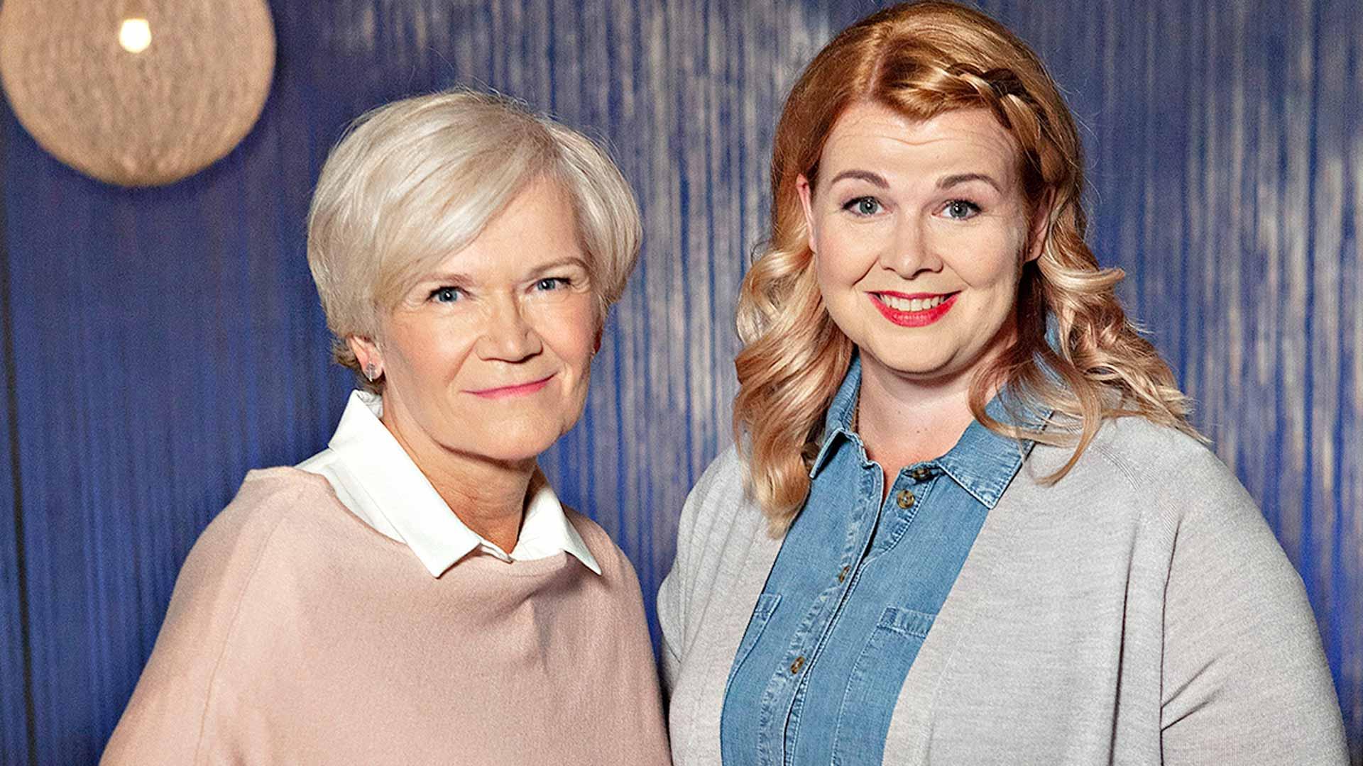 Flinkkilä & Kellomäki,Anne Flinkkilä (vas.) jaAni Kellomäki.