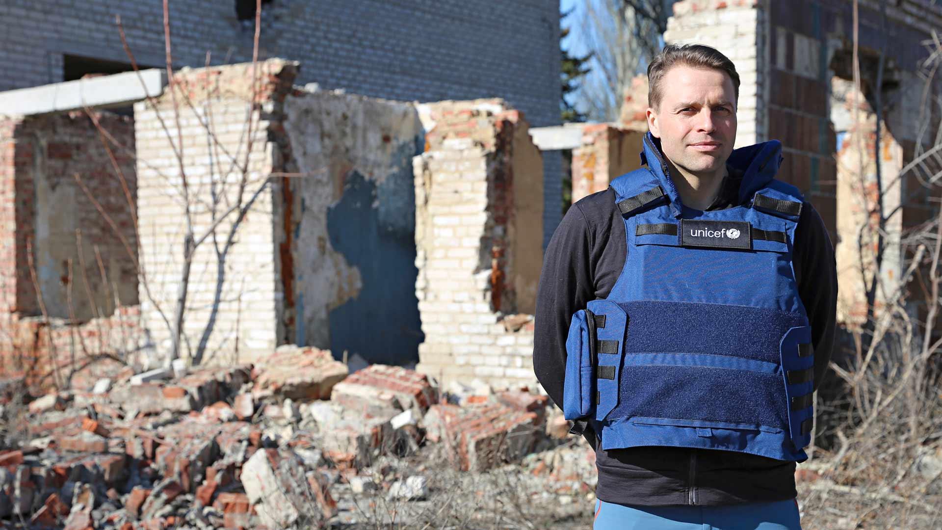 Kimmo Ohtonen vieraili Ukrainassa helmi-maaliskuun vaihteessa