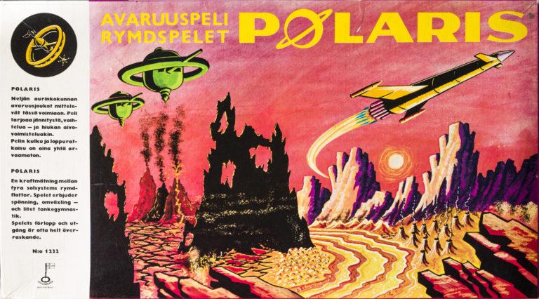 Avaruuspeli Polaris (julkaistu n. 1950–1970) on hyvä esimerkki suurille ikäluokille suunnatusta lautapelistä. Ennen toista maailmansotaa julkaistut pelit käsittelivät yleensä sotaa, mutta 50-luvun alusta alkaen pelit tehtiin ensisijaisesti lapsille. Samalla sotateema jäi marginaaliin.