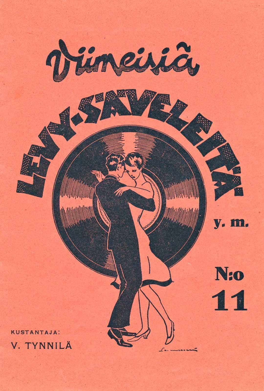 Sota-aikana julkaistiin myös uutta tanssimusiikkia, ja nuottien kansissa kuvattiin tanssijoita, vaikka Suomessa oli tiukka tanssikielto.