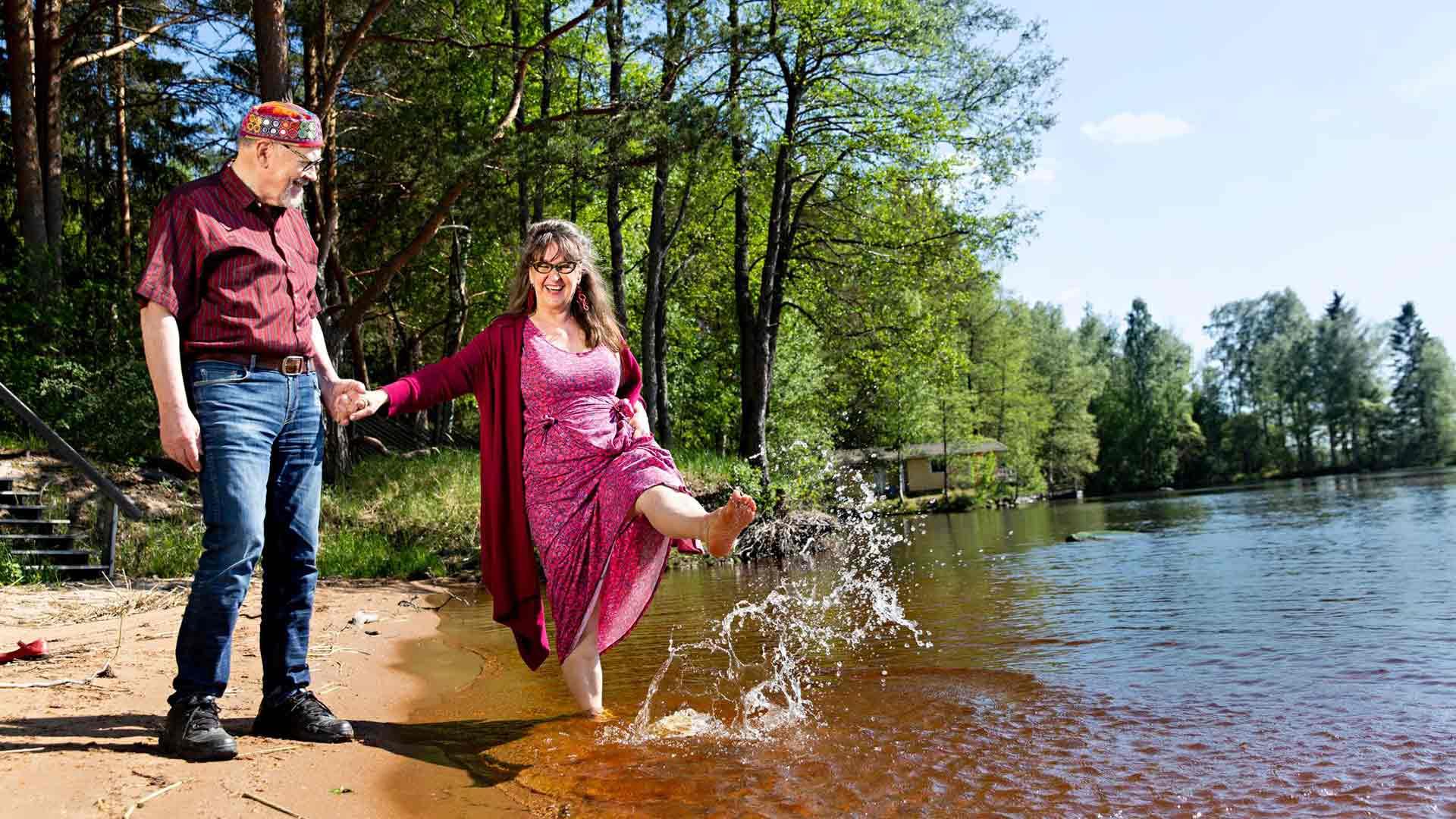 Aliisa Pulkkinen ja Jotaarkka Pennanen