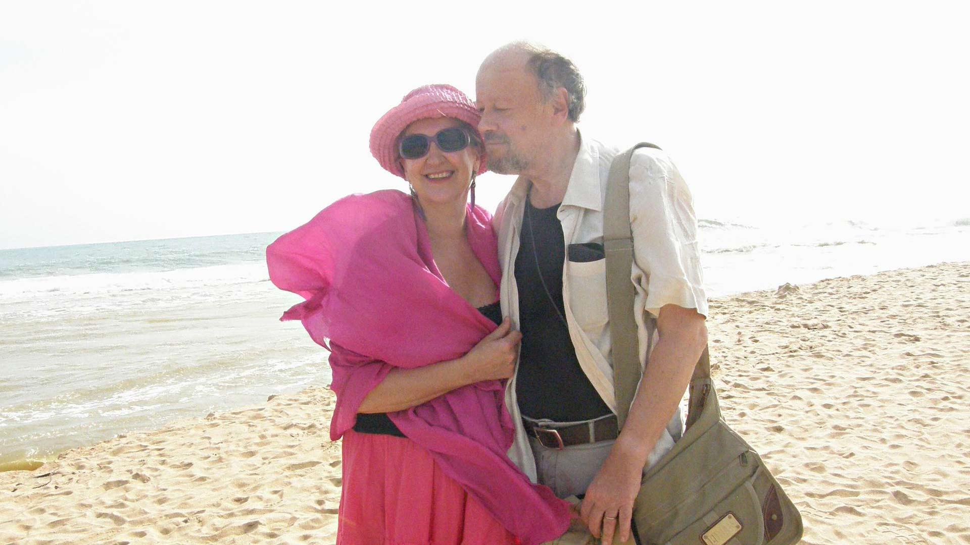 Omatoimimatkalla Intian Keralassa Kamala Beachilla lokakuussa 2010.