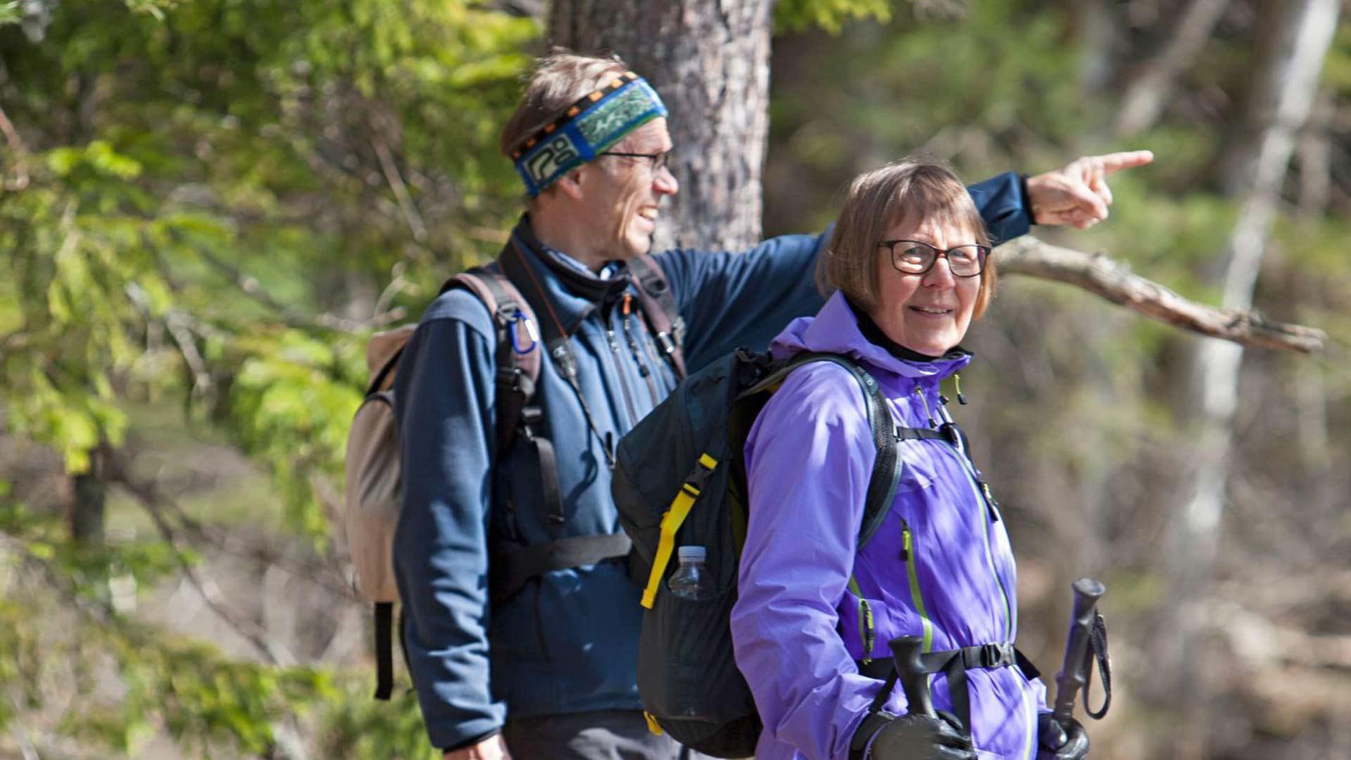 """""""Meistä on tärkeää, että voimme elää omannäköistä elämää"""", kertovat Kristiina ja Pekka."""