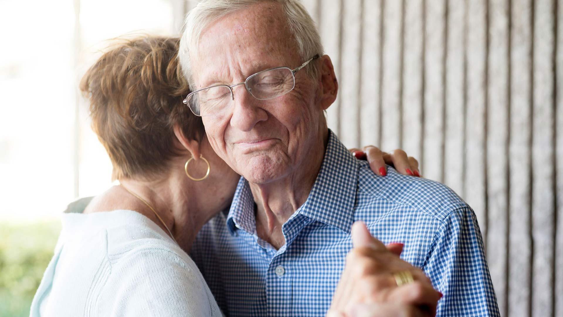 Alzheimerin tautia sairastava muistisairas