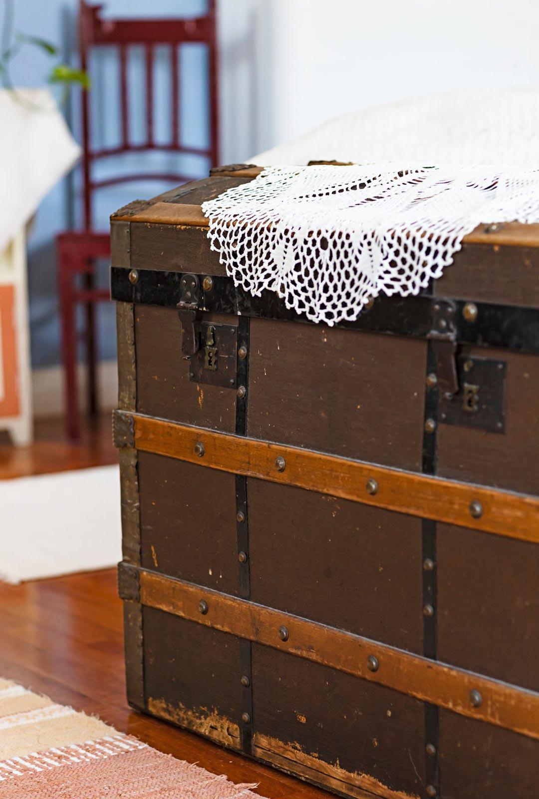 Matka-arkku on Marjan isosisän peruja.