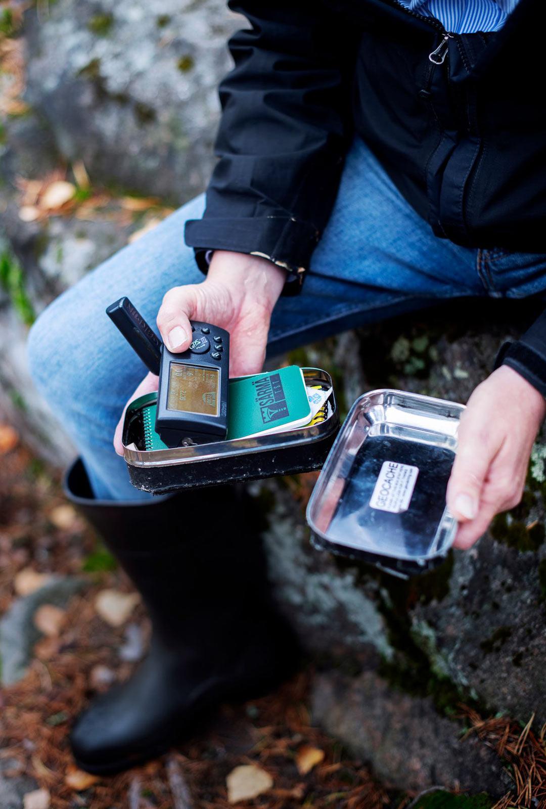 Suomen ensimmäinen geokätkö on piileskellyt Keravan metsissä jo yli 20 vuotta.
