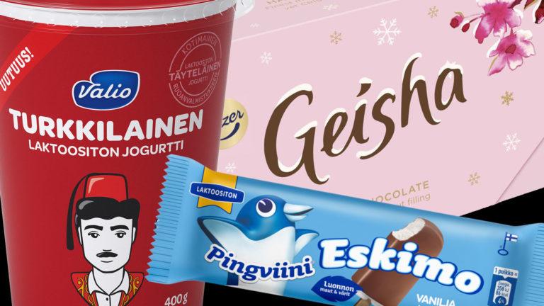 eskimon, geishan ja turkkilaisen jogurtin kohtalo