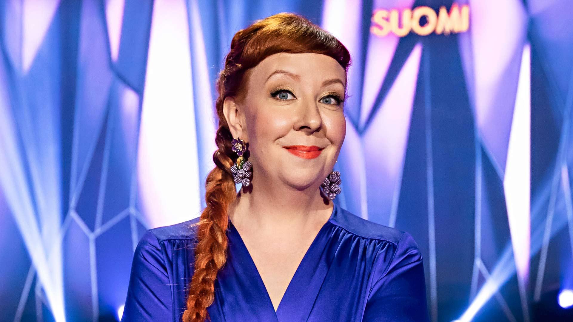 Masked Singer Suomi -panelisti Jenni Kokander.