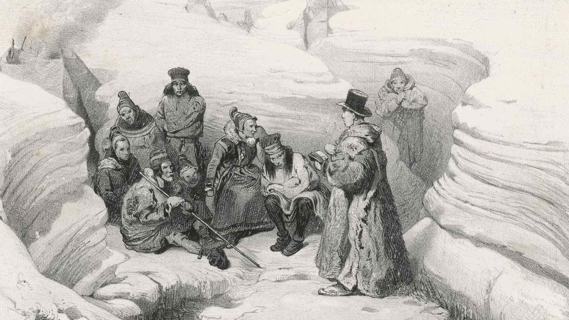 Karismaattinen saarnaaja Laestadius käännytti Ruotsin ja Suomen Lapissa rahvasta irti viinanhimosta ja synninteosta.