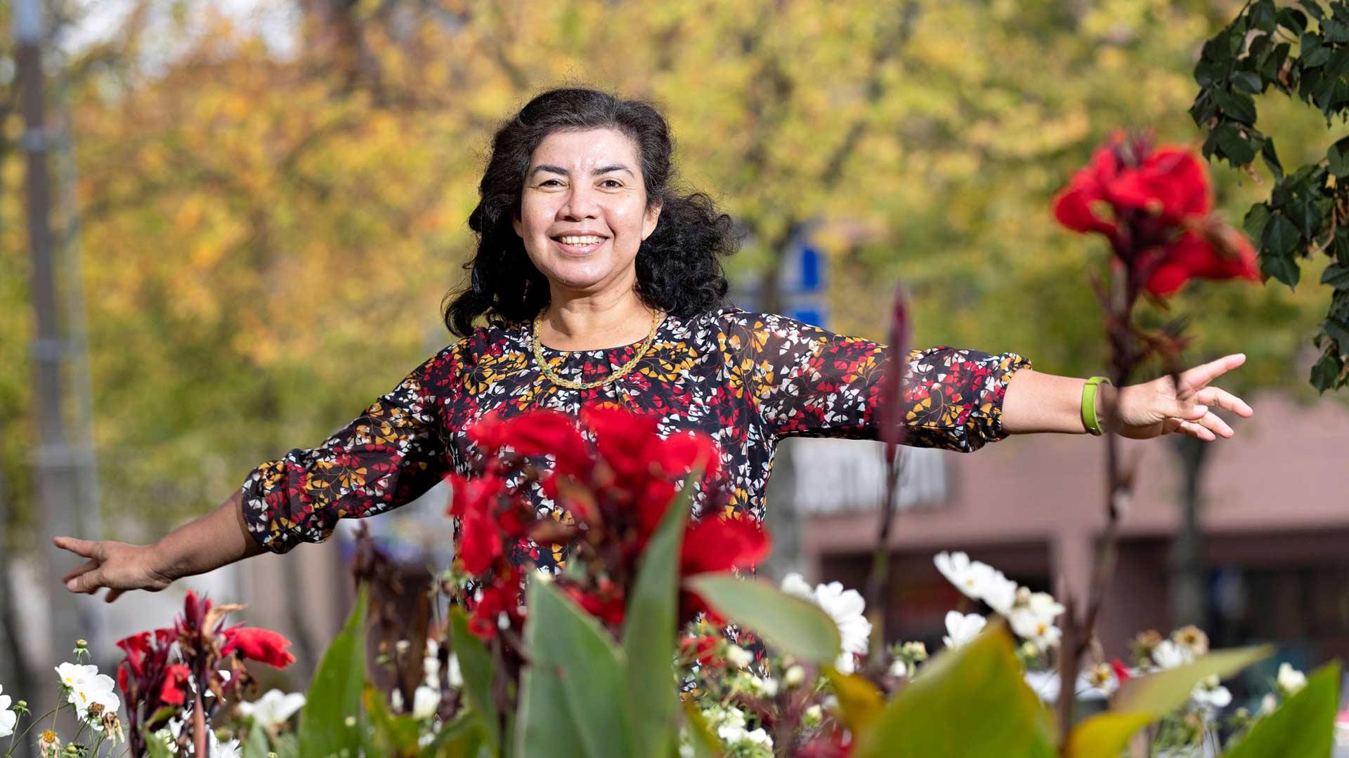 Ana Maria Gutierrez Sorainen puolustaa heikompia