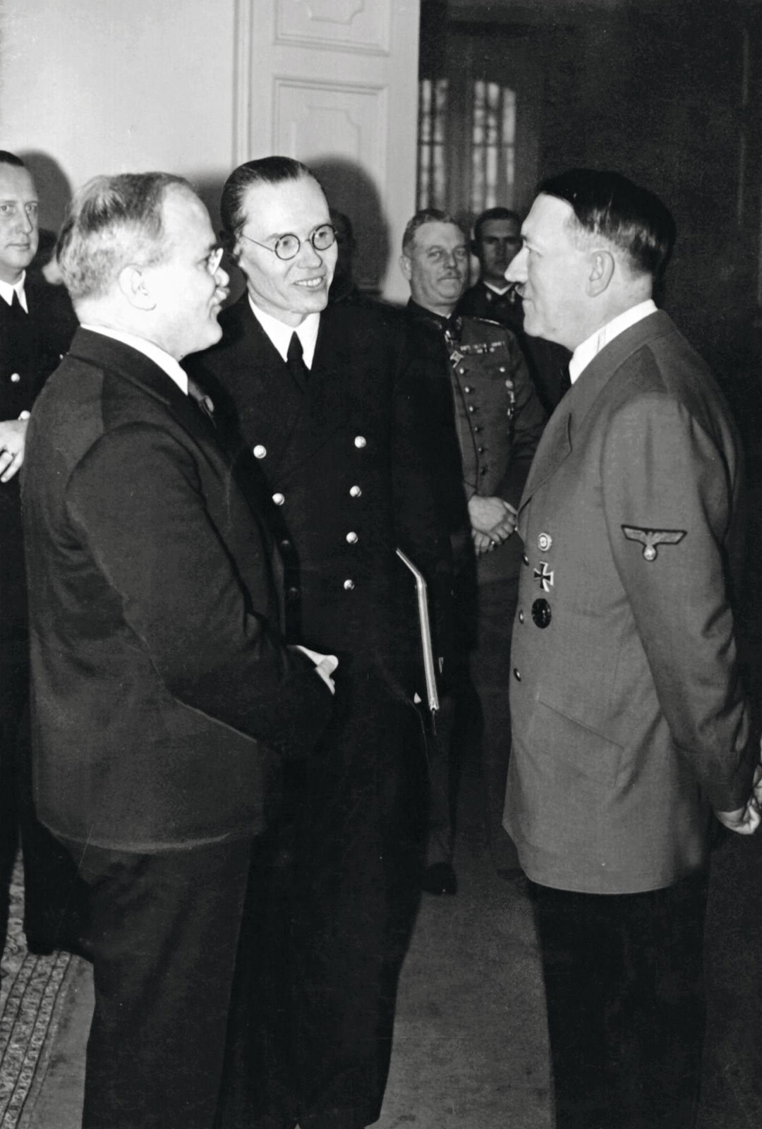 Vjatsheslav Molotovin ja Adolf Hitlerin kohtaaminen Berliinissä
